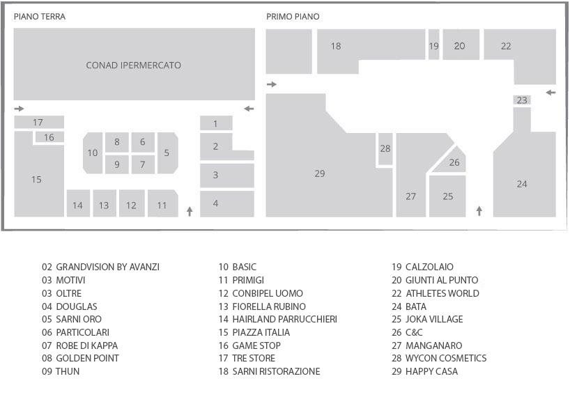 mappa CCL
